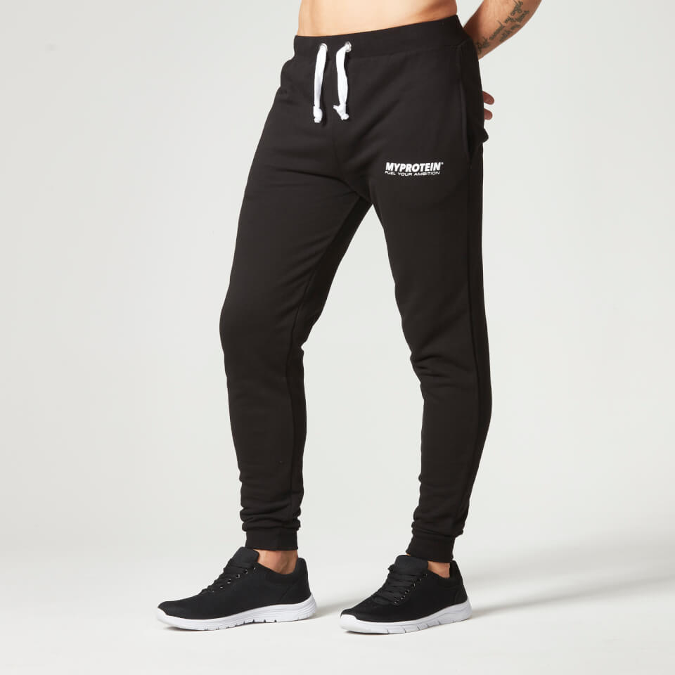 Foto Myprotein Men's Slim Fit Sweatpants, Black, XXL Pantaloni tuta