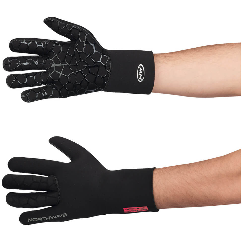 northwave-neoprene-long-finger-gloves-black-s-black