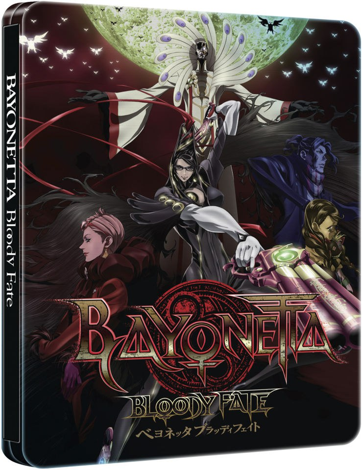 Bayonetta: Bloody Fate - Collector's Edition Steelbook