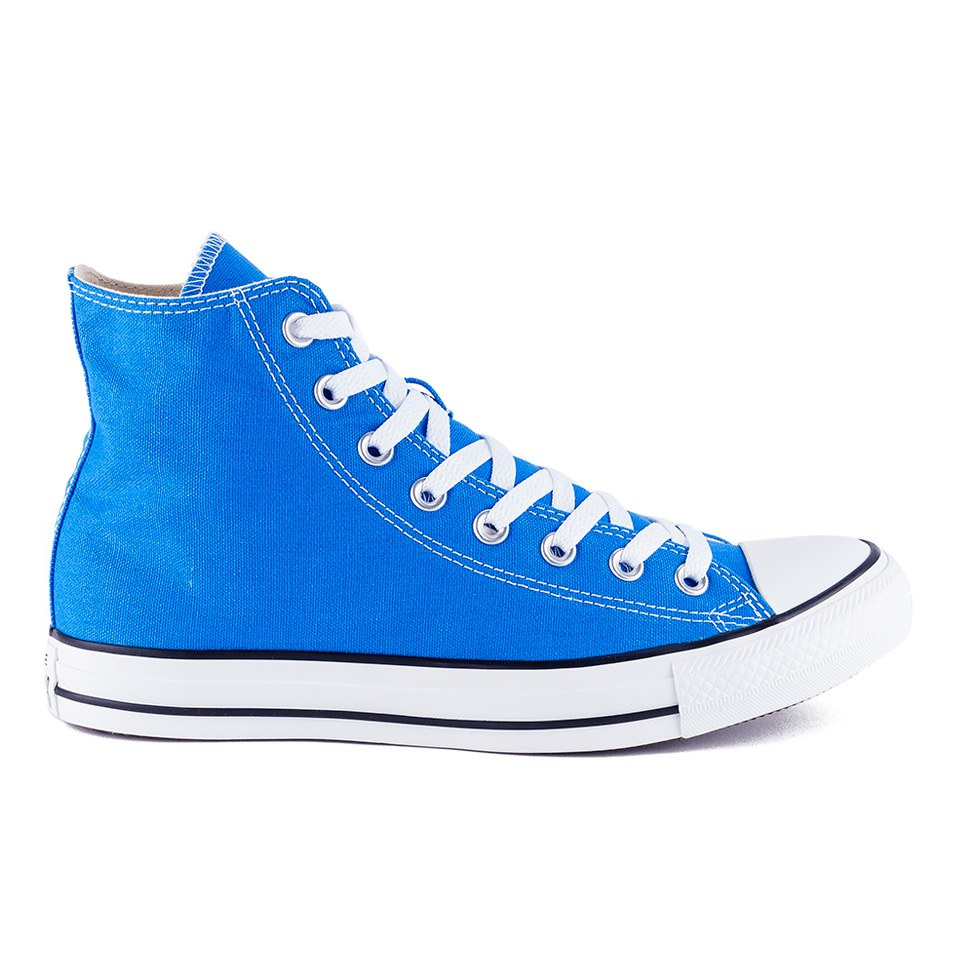 72dda59baea6 Converse Unisex Chuck Taylor All Star Canvas Hi-Top Trainers - Light  Sapphire - Free UK Delivery over £50