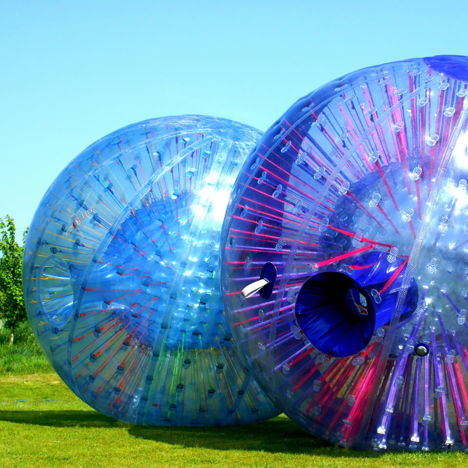 zorbing-for-two