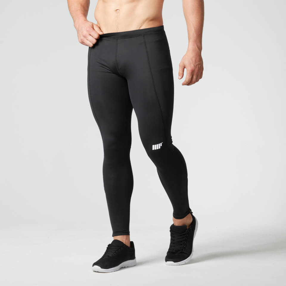 Foto Dcore Men's Performance Tights, Black, L, EU 38 Myprotein