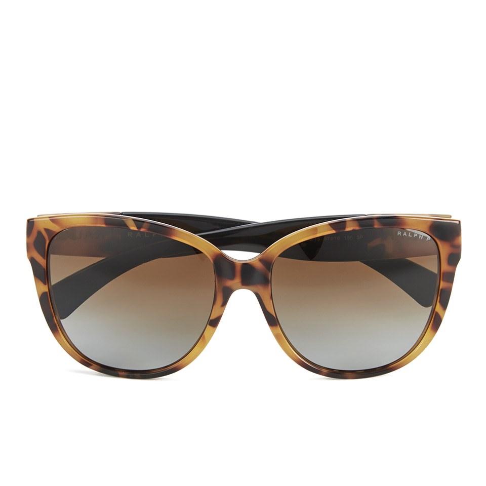Ralph Lauren Womens Sunglasses  polo ralph lauren d shape women s sunglasses dark tortoise