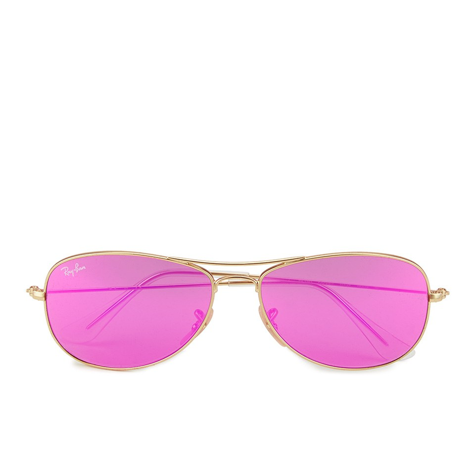 ray-ban-women-cockpit-sunglasses-matte-goldcyclamen-mirror-56mm