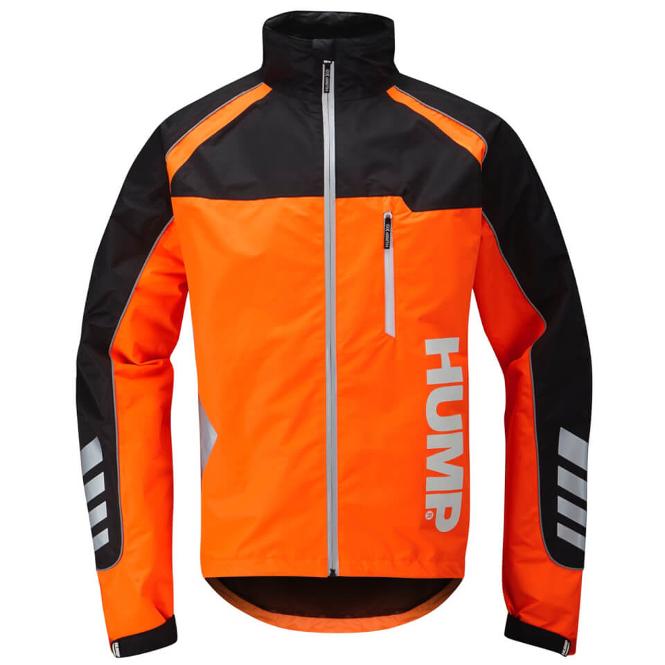 Hump Strobe Waterproof Jacket - Shocking Orange - XL - Orange