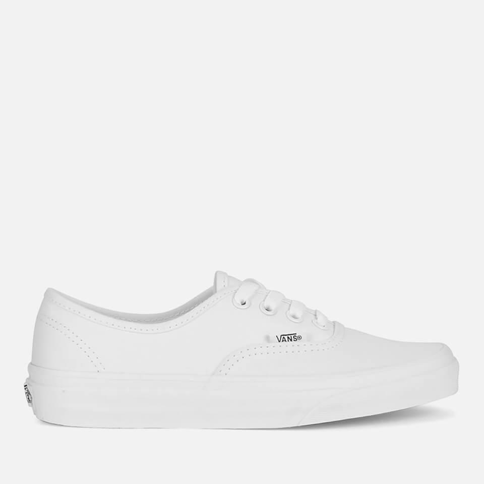 Vans Authentic Canvas Trainers - True White - UK 3