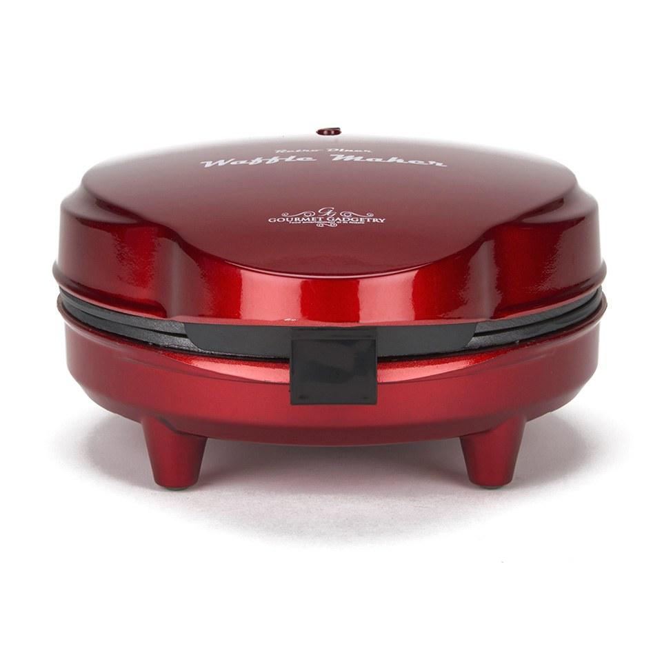 gourmet-gadgetry-retro-diner-waffle-maker