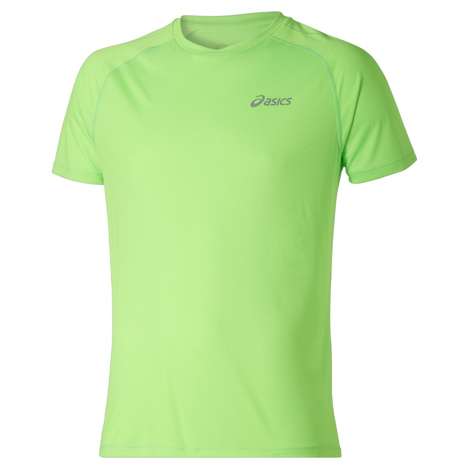 asics-men-shorts-sleeve-running-t-shirt-green-gecko-l