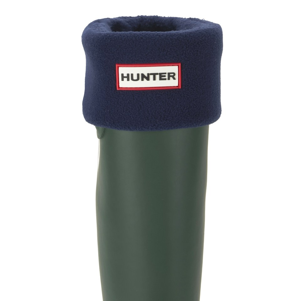 hunter-unisex-tall-fleece-welly-socks-navy-l