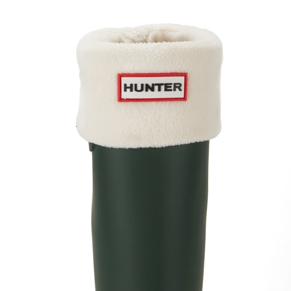 hunter-unisex-tall-fleece-welly-socks-cream-l