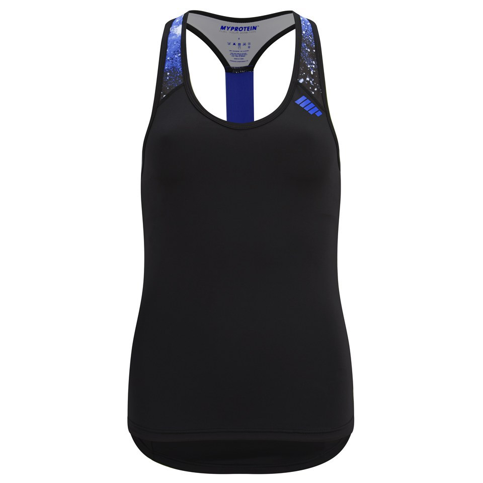 Foto Myprotein Women's Racer Back Scoop Vest with Support - Blue - UK 10 Vesti