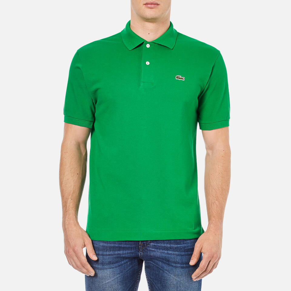 Lacoste men 39 s polo shirt green free uk delivery over 50 for Lacoste poloshirt weiay