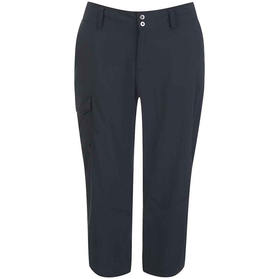 Columbia Womens Silver Ridge Capri Pants Black Uk 6