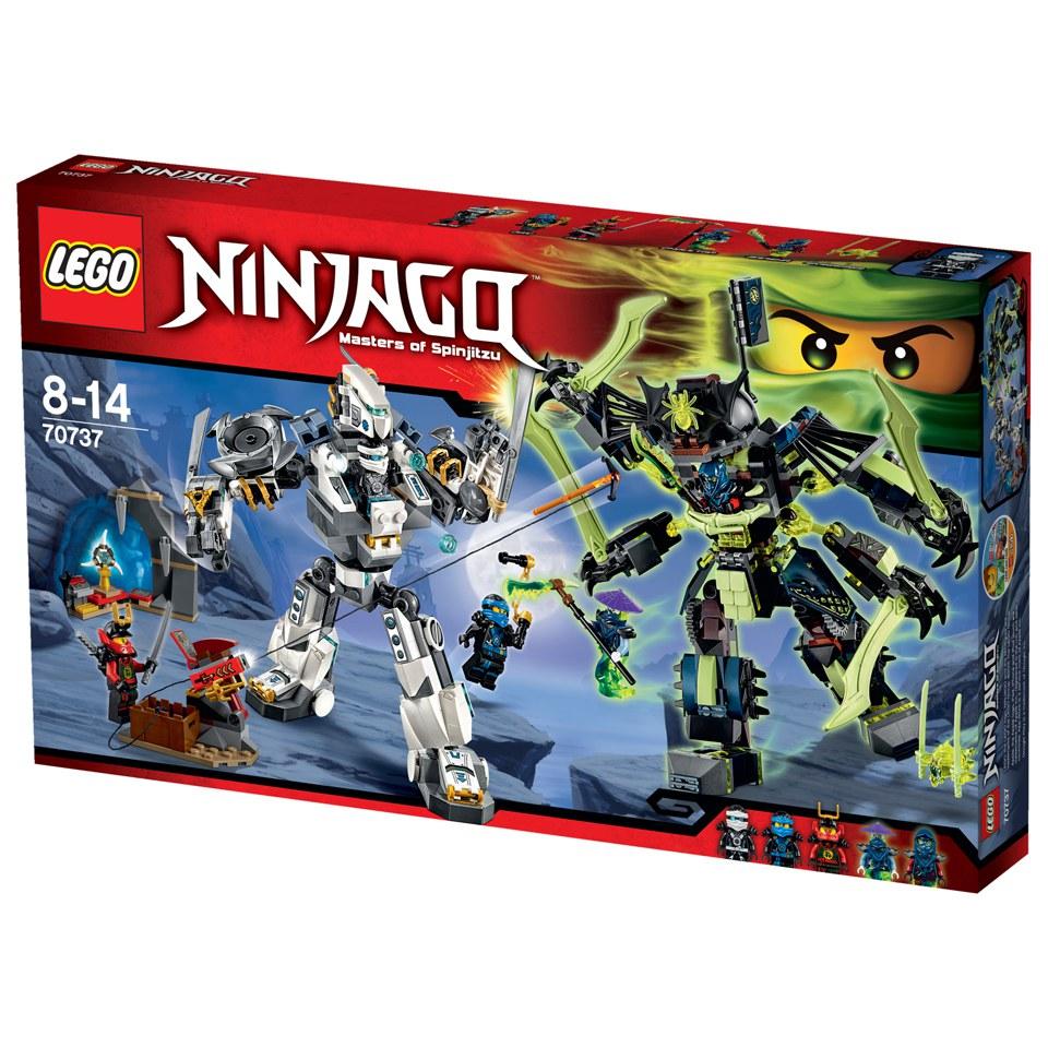 Lego Ninjago Toys : Lego ninjago titan mech battle toys thehut