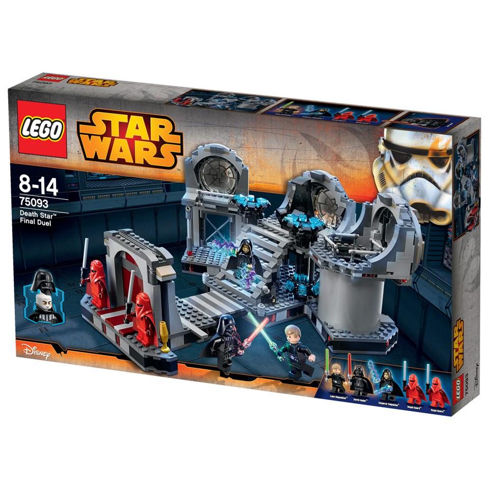 Lego star wars death star final duel 75093 toys zavvi - Bd lego star wars ...