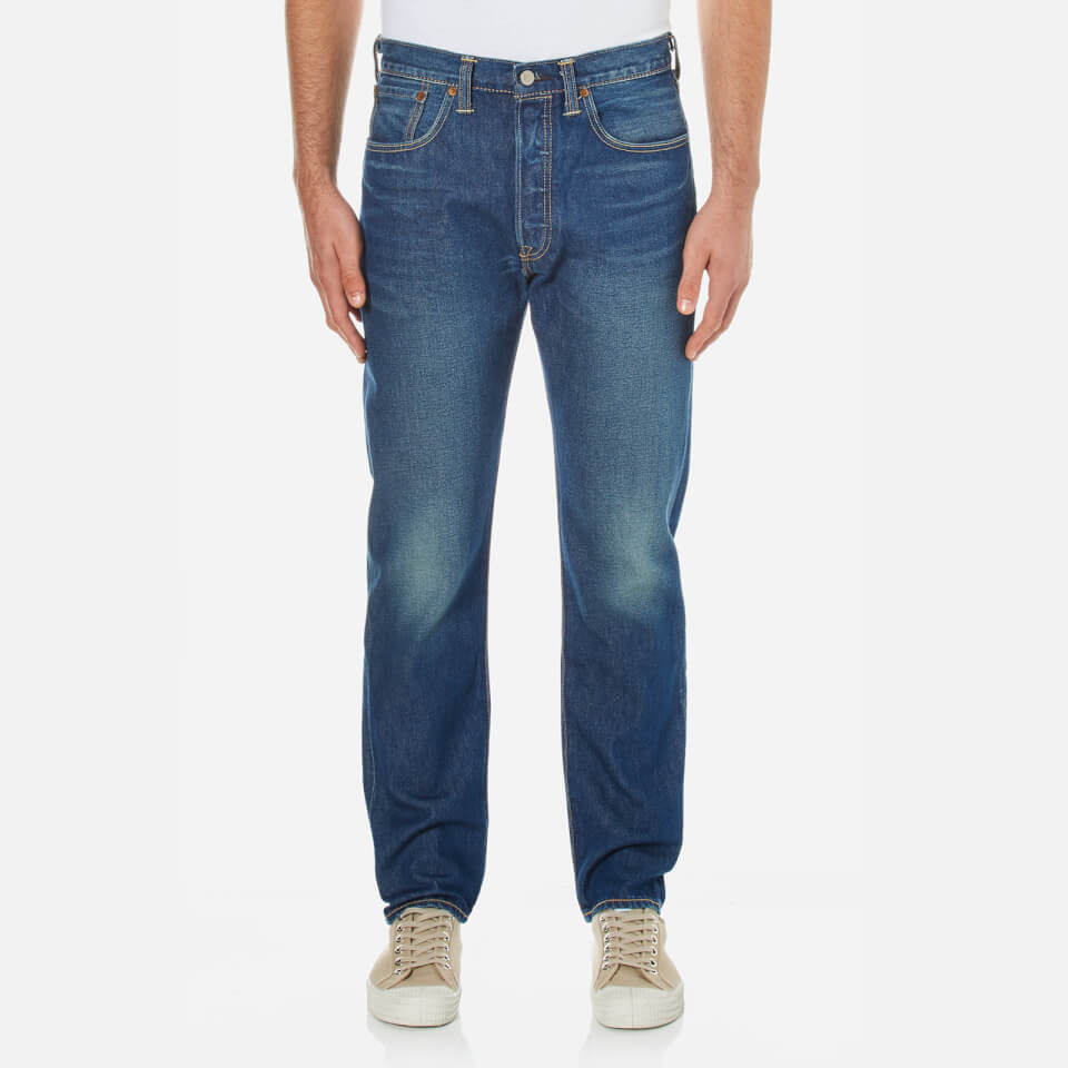 Levis Mens 501 Customized And Tapered Jeans Dalston W34/l34