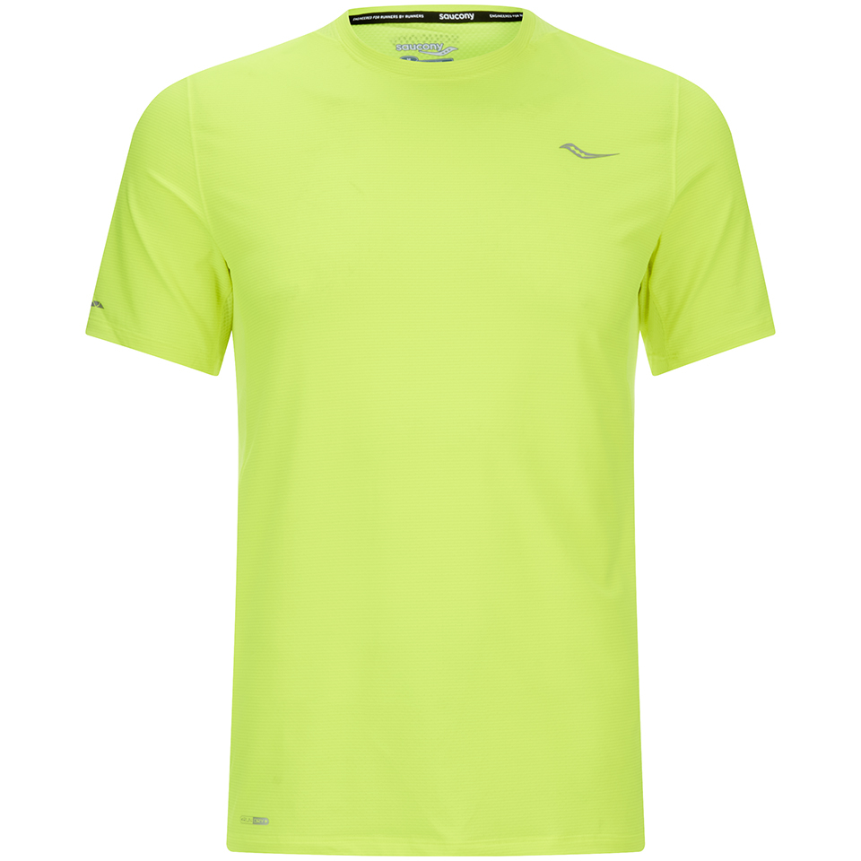 saucony-speed-of-lite-short-sleeve-t-shirt-yellow-xl