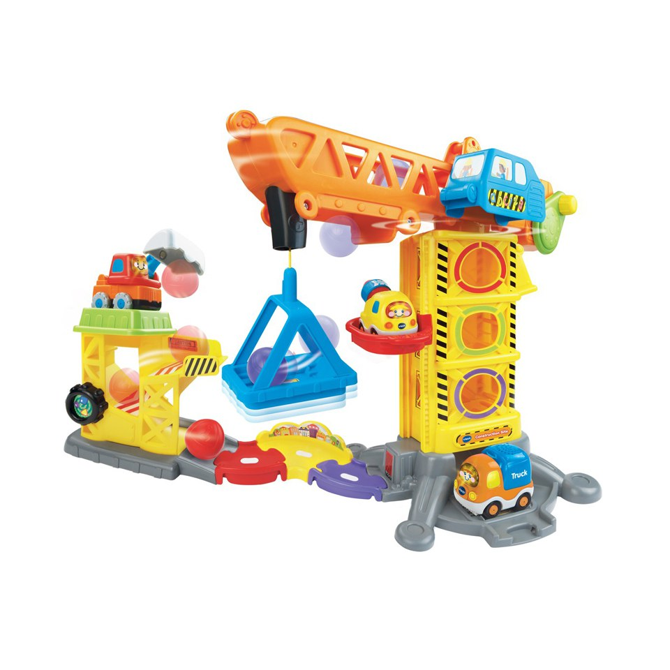 Construction Site Toys : Vtech toot drivers construction site toys thehut