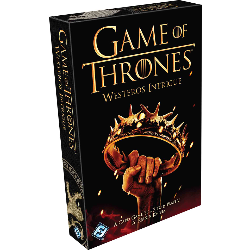 Image of Game of Thrones: Westeros Intrigue Card Game