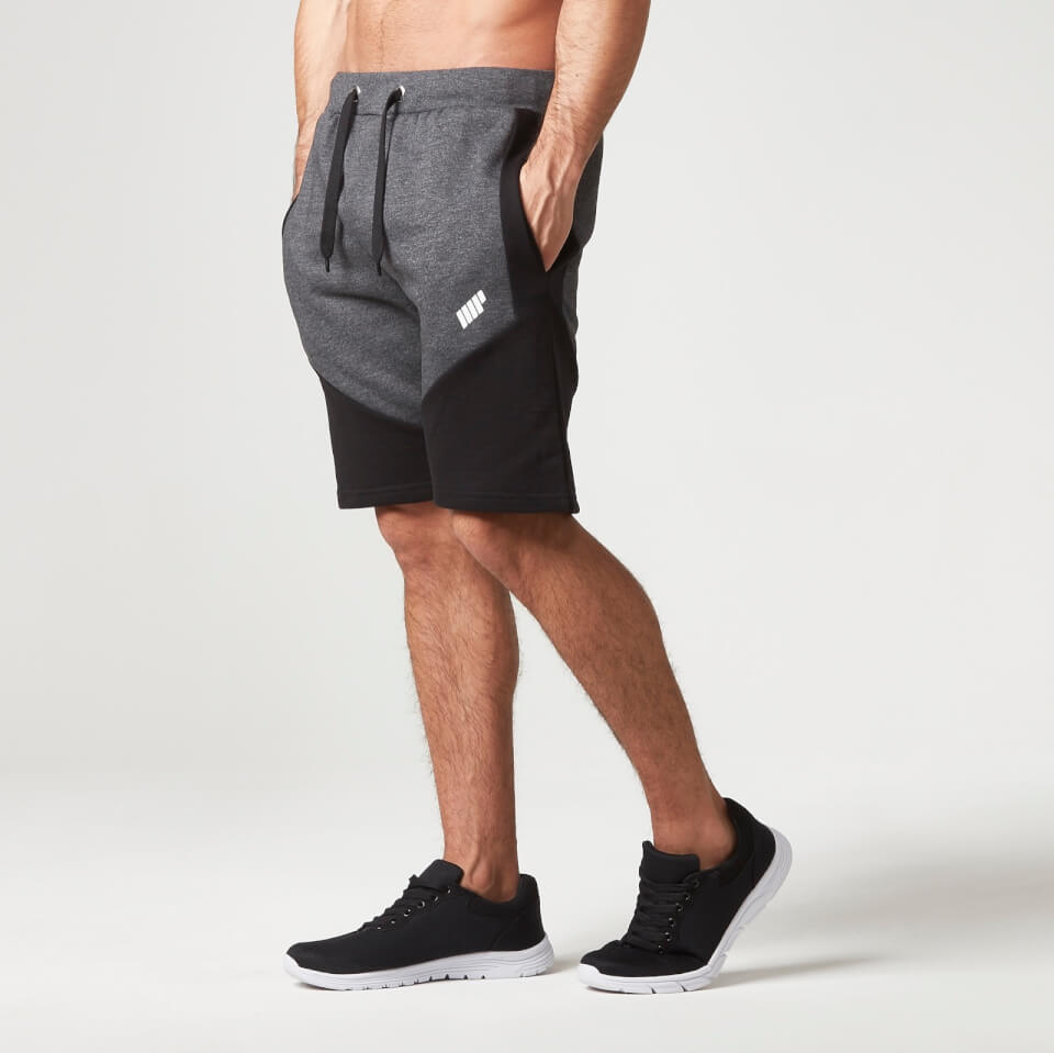Foto Myprotein Men's Panelled Sweatshorts - Charcoal - M