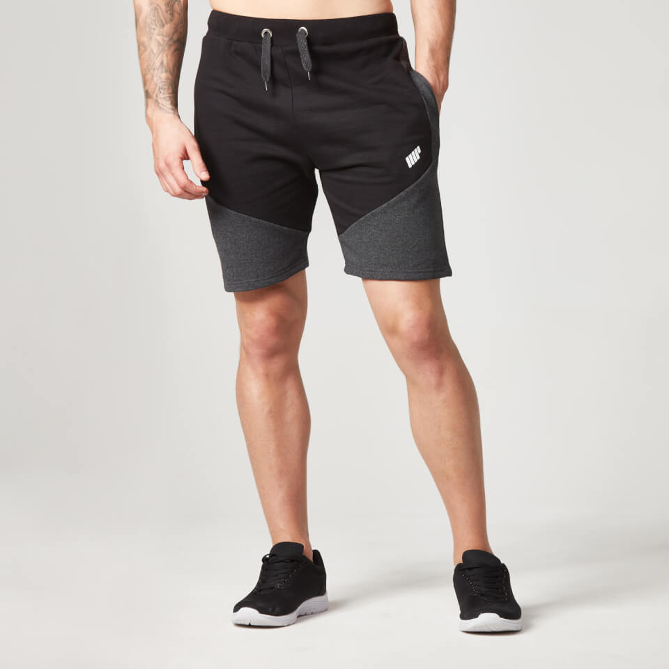 Foto Myprotein Men's Panelled Sweatshorts - Black - L