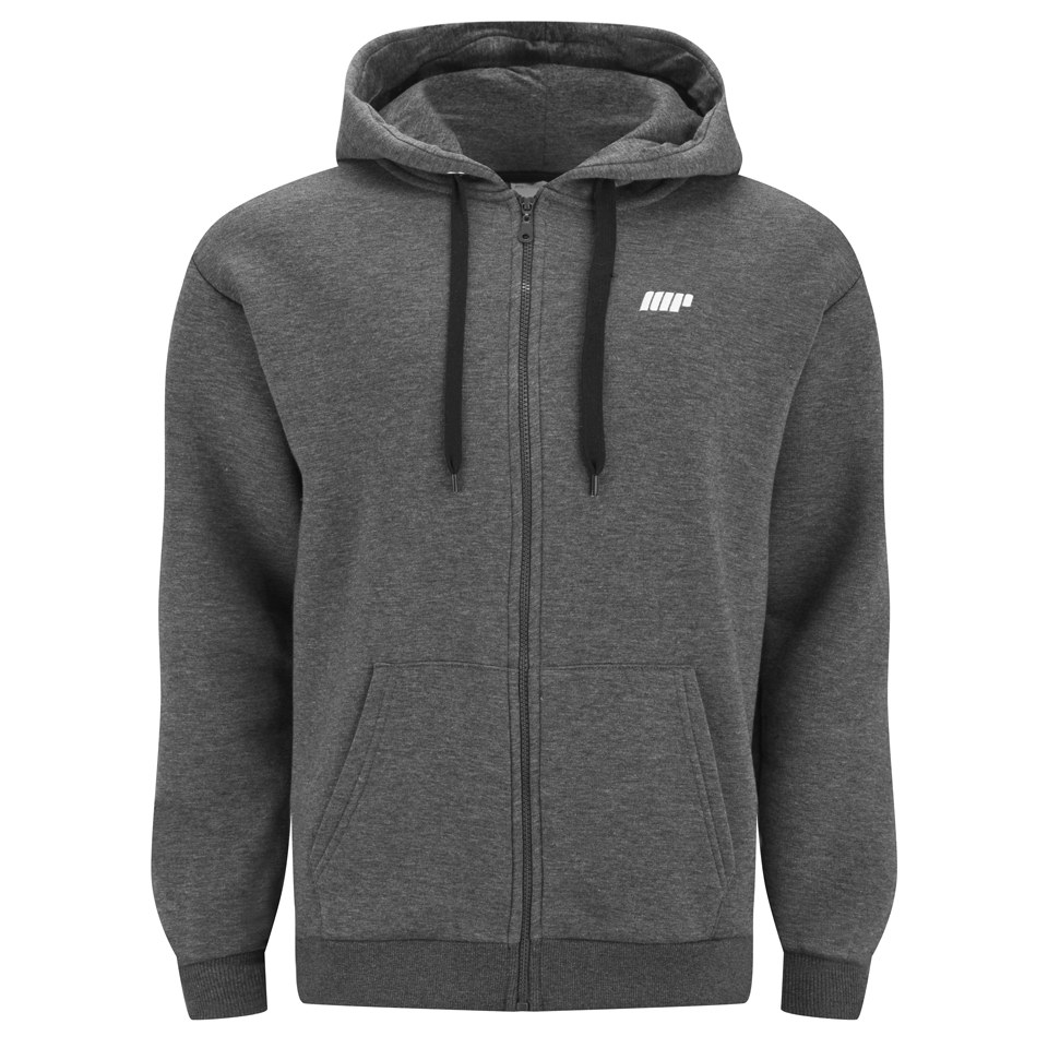 Foto Myprotein Men's Zip Up Hoody - Charcoal - L