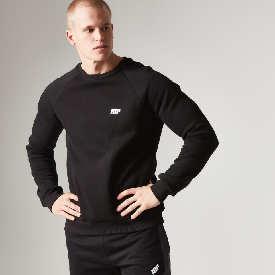 Foto Myprotein Men's Crew Neck Sweatshirt - Black - XL