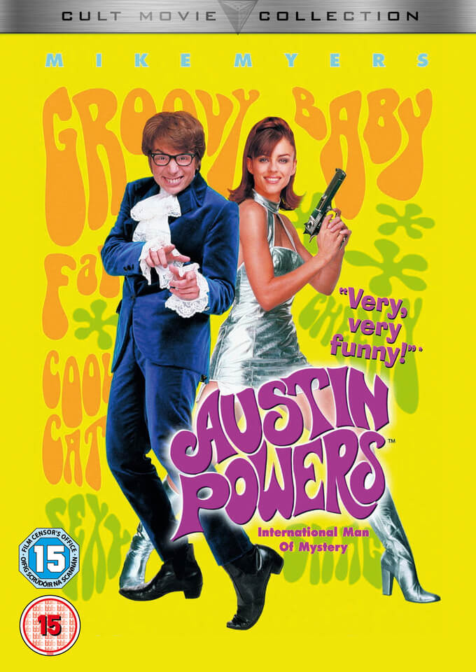 austin powers international man of mystery as a masterpiece of comedy '90s james bond spoof has tons of sex, crude humor read common sense  media's austin powers: international man of mystery review, age rating, and.