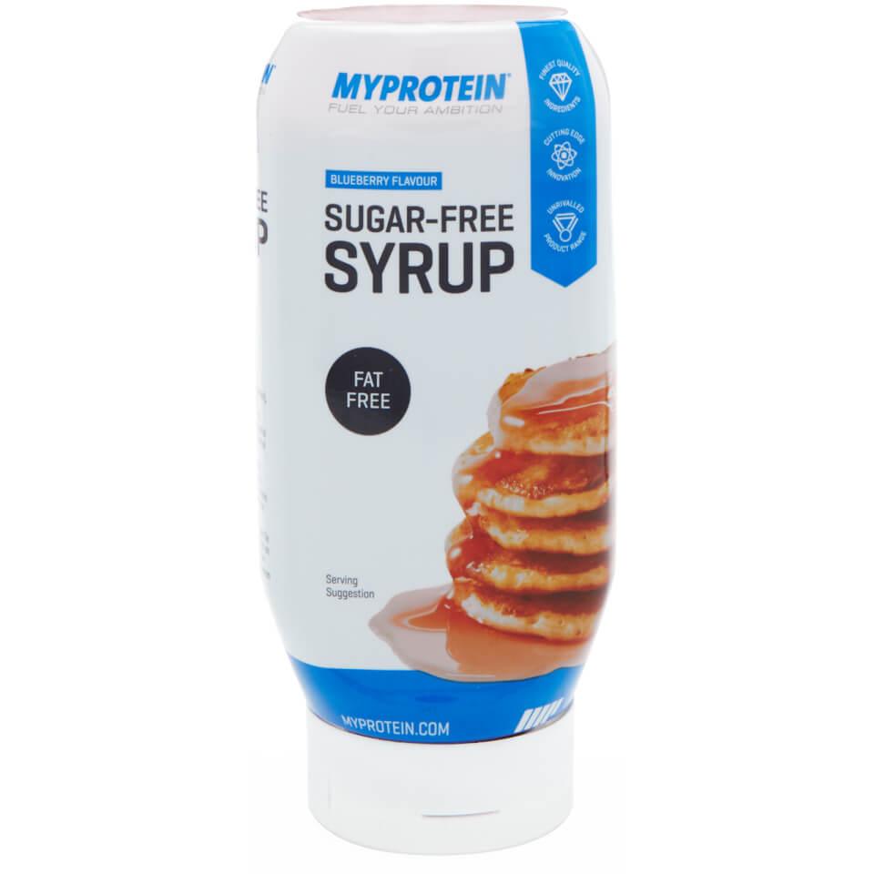 Sugar-Free Syrup - 400ml - Bottle - Blueberry