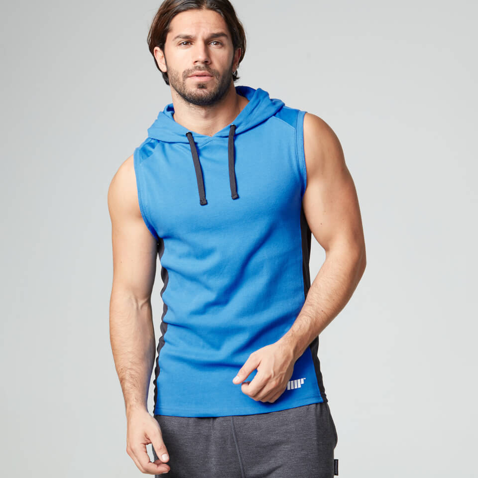 Foto Myprotein, Men's Hooded Singlet, Blue - M