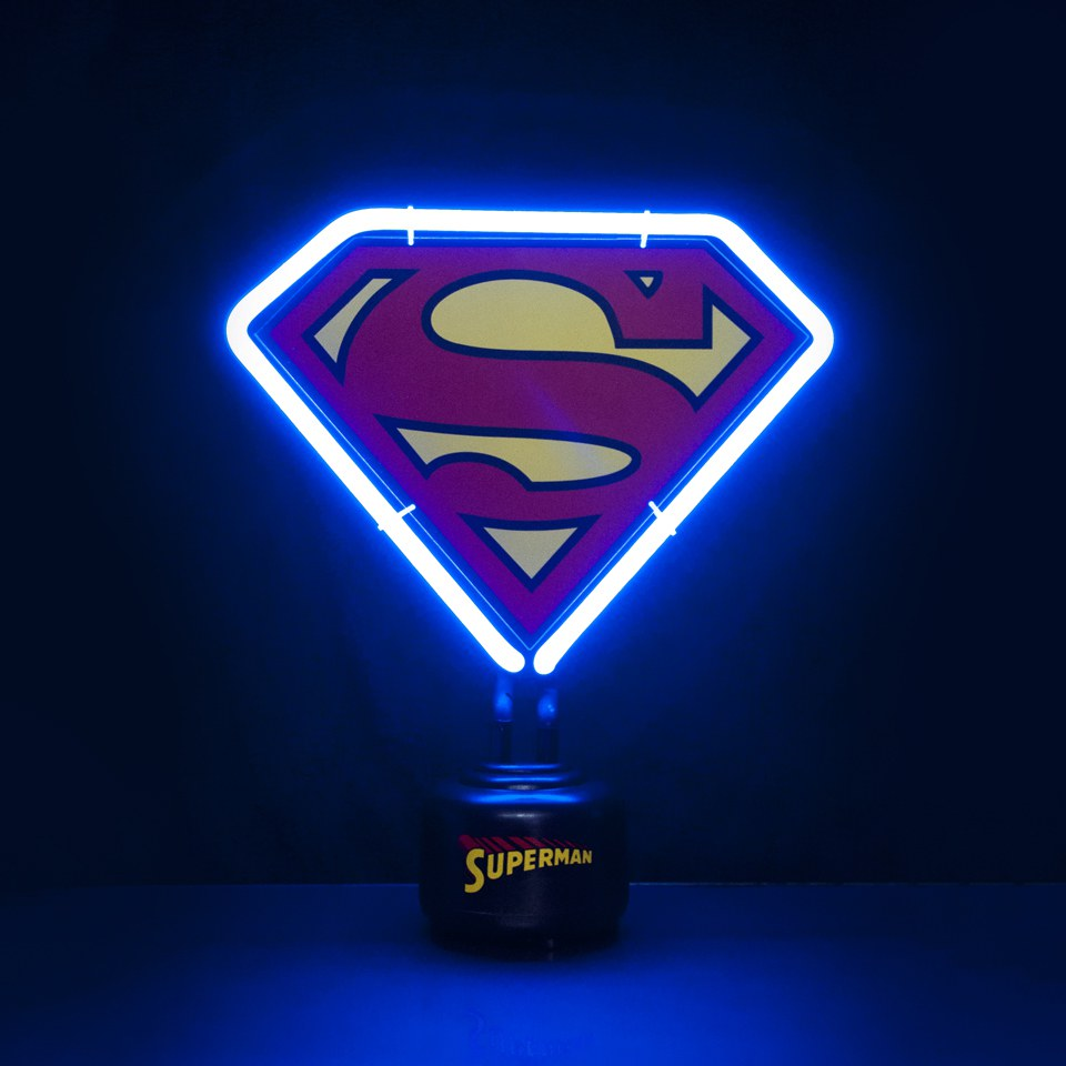 superman-dc-comics-mini-neon