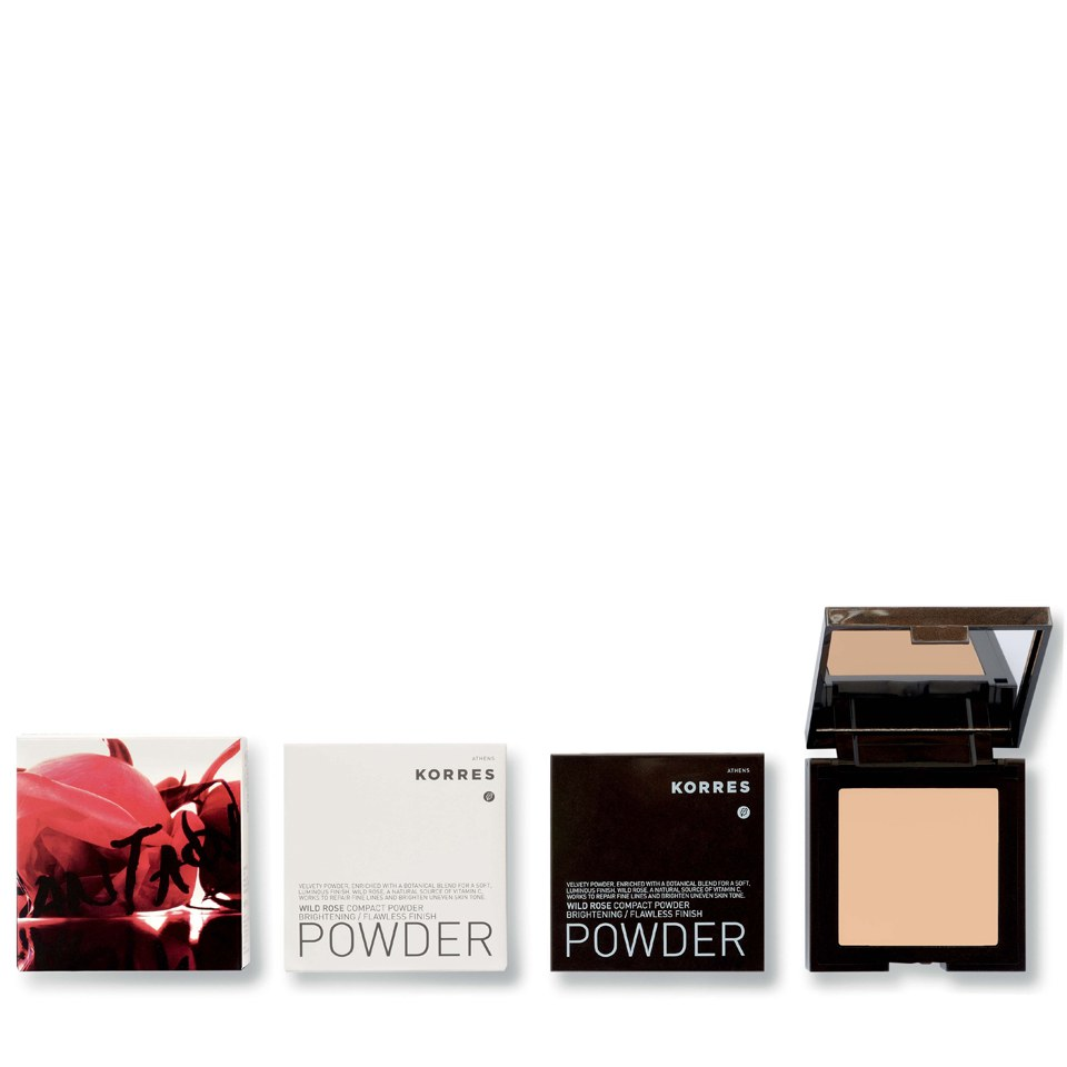 Korres Colour Wild Rose Compact Powder – Wrp4