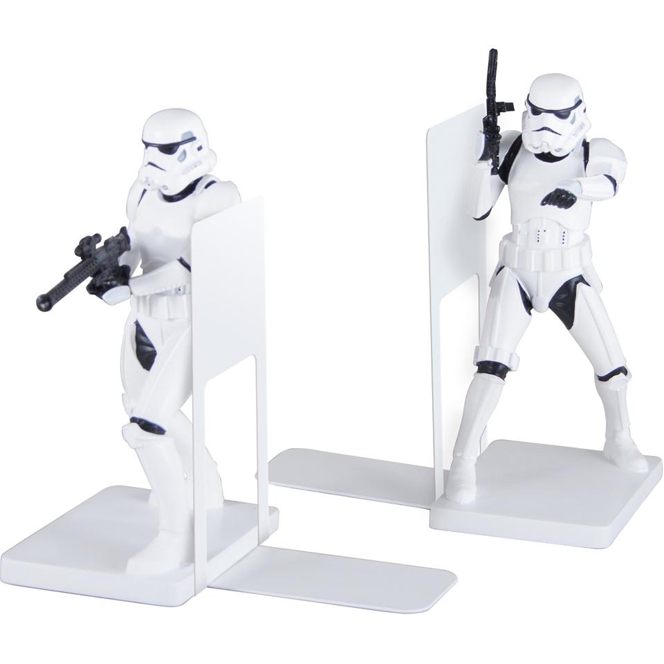 Star Wars Storm Trooper Bookends Gifts Zavvi