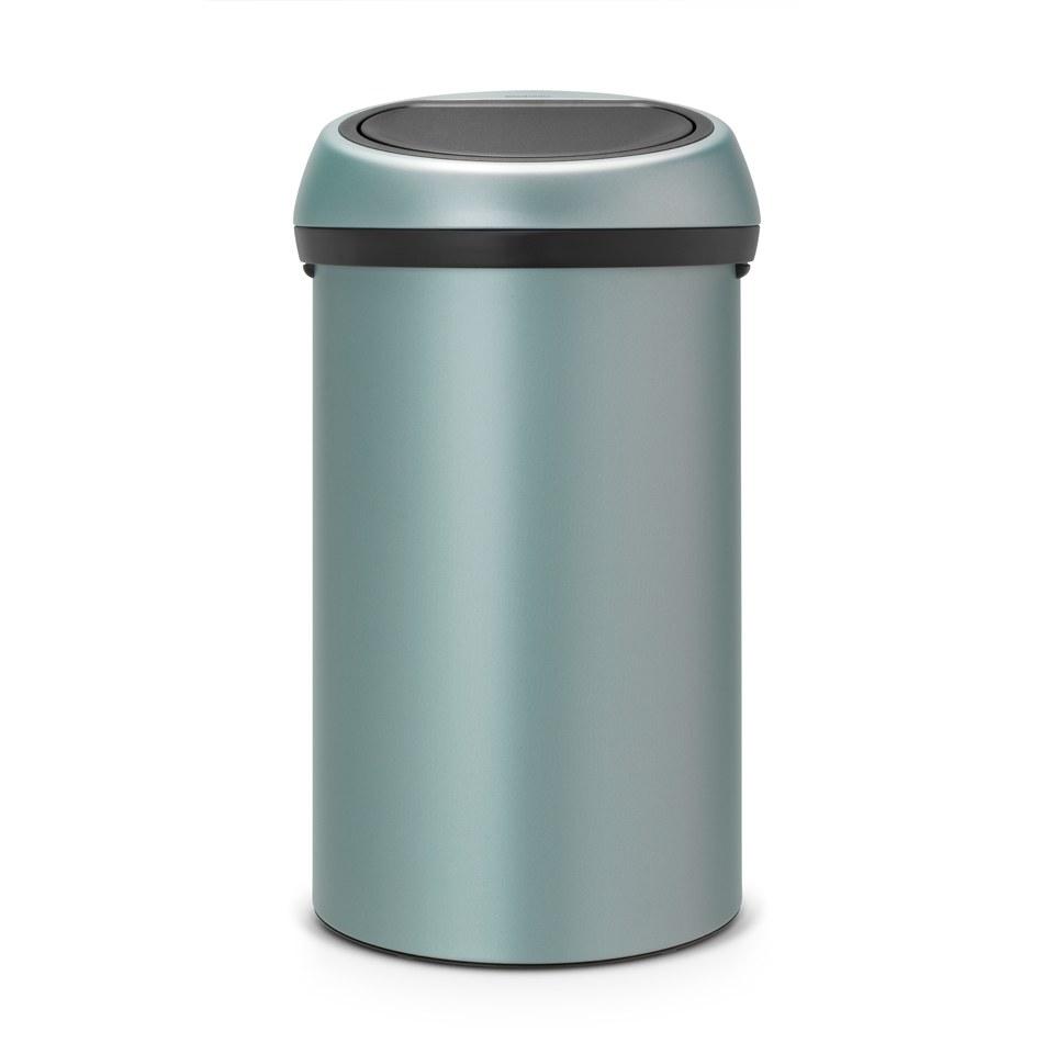 brabantia-60-litre-touch-bin-metallic-mint