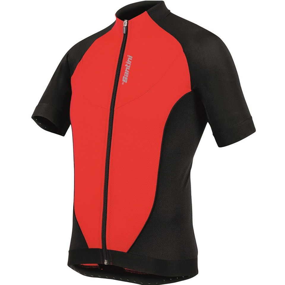 santini-zero-impact-20-short-sleeve-jersey-red-s