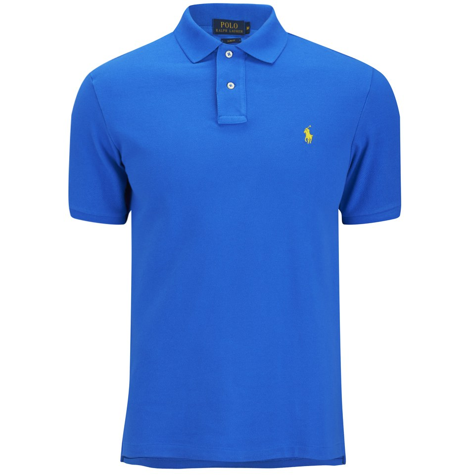 Polo ralph lauren men 39 s custom fit pique polo shirt spa for Custom polo shirts canada