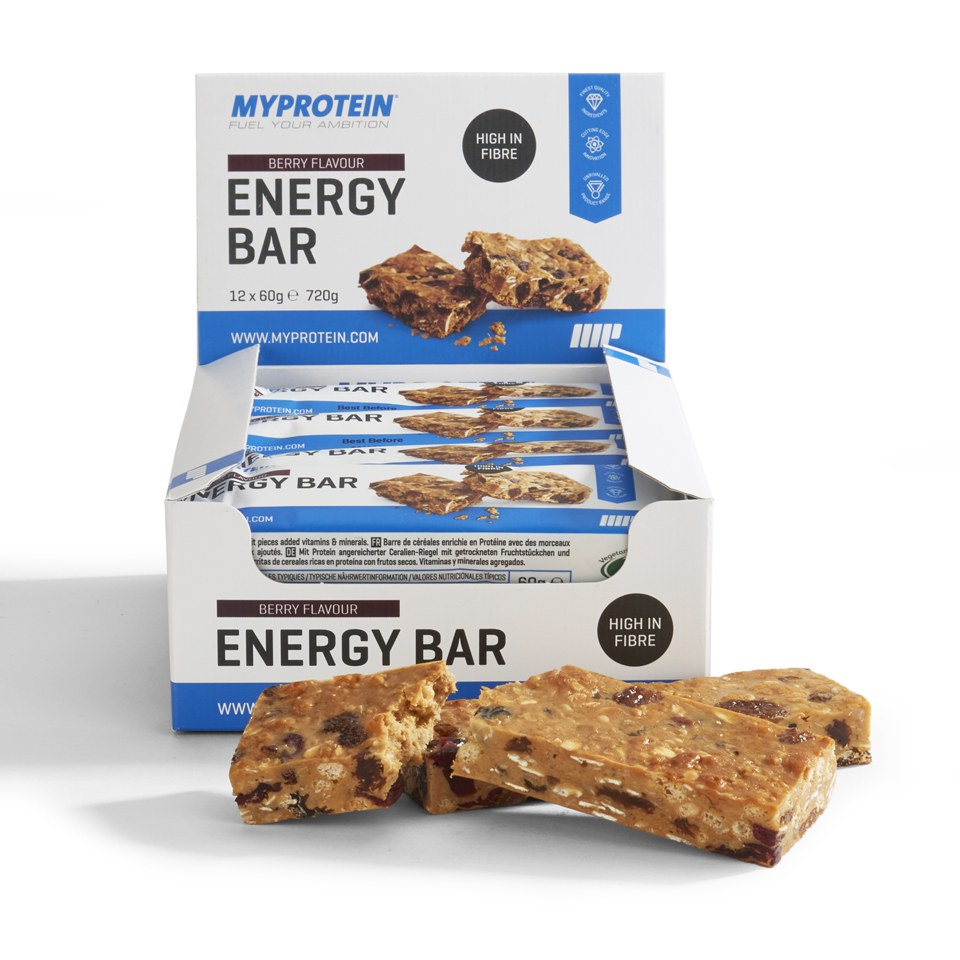 Myprotein Energy Bar, Apricot, 12 x 60g