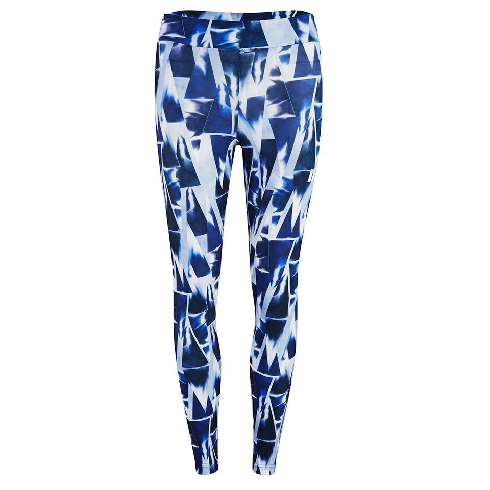Myprotein Blue Geometric Print Leggings - Multi, L
