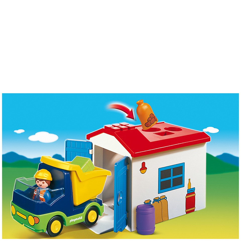 playmobil-123-truck-with-garage-6759