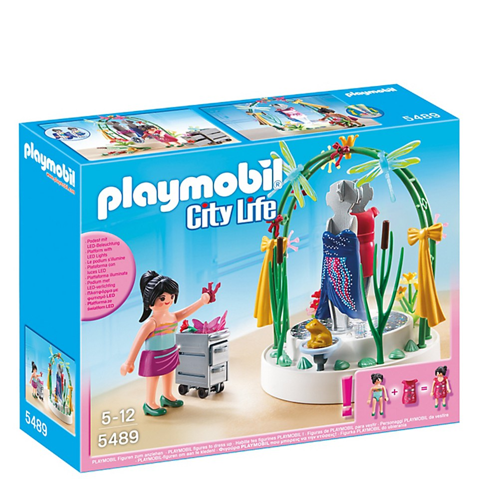 Playmobil Shopping Centre Clothing Display (5489)