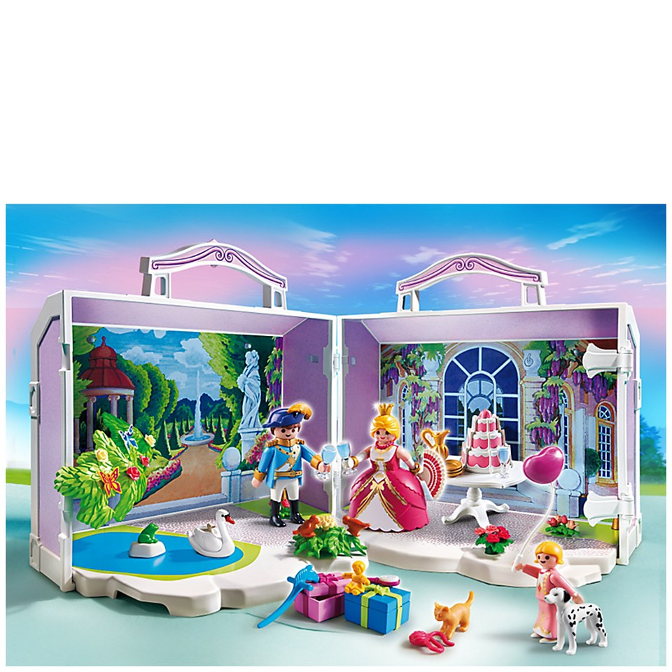 Playmobil Princesses Take Along Princess Birthday 5359