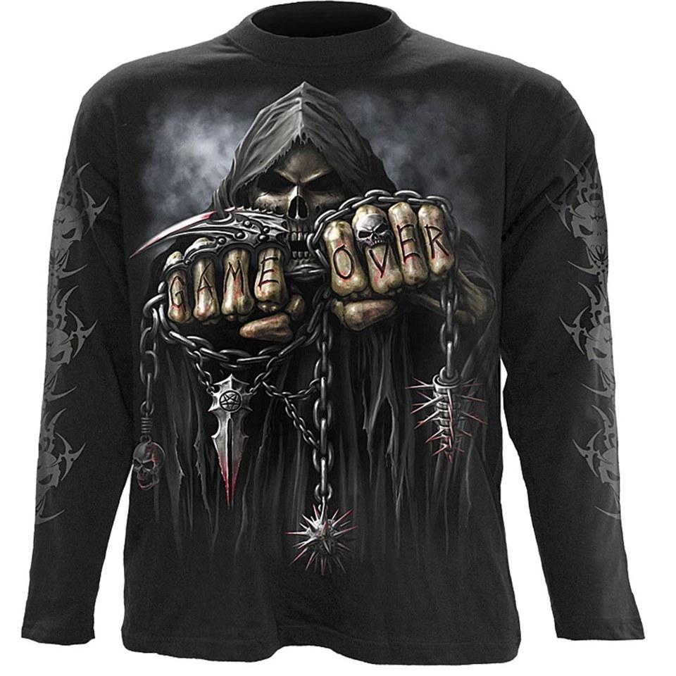 spiral-men-game-over-long-sleeve-t-shirt-black-m