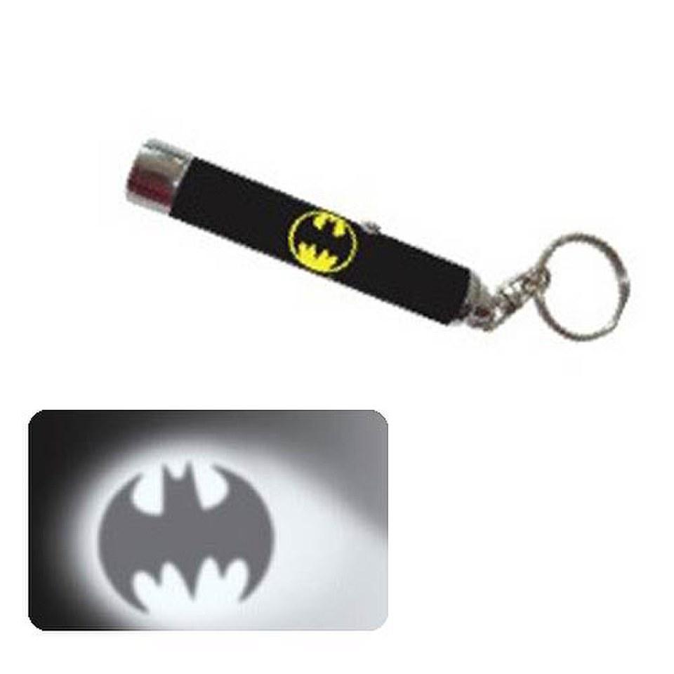 Dc Comics Batman Bat Signal Flashlight Key Chain Iwoot