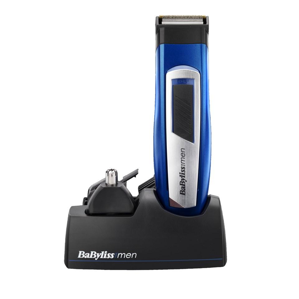 BaByliss For Men 6 in 1 Titanium Grooming Kit – Blue