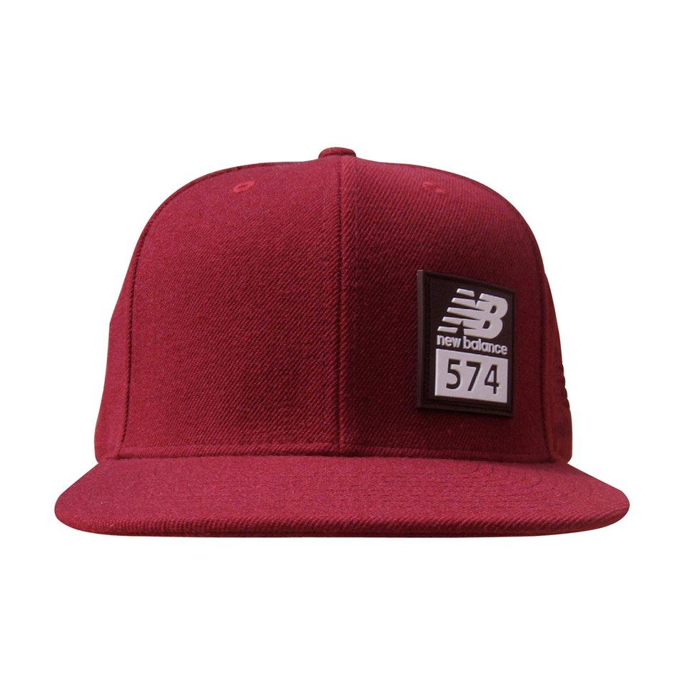 new balance men 39 s 574 cap burgundy clothing. Black Bedroom Furniture Sets. Home Design Ideas