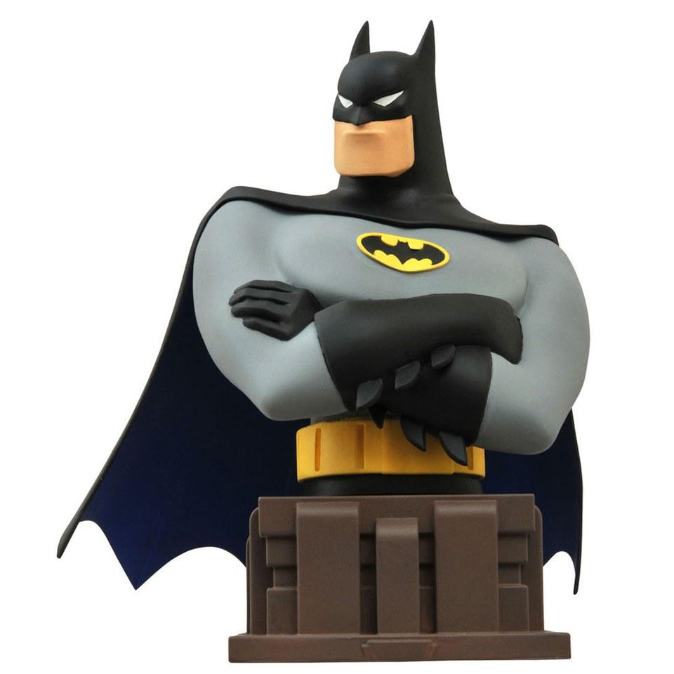 Nützlichfanartikel - Büste Diamond Select DC Comics Batman The Animated Series – Batman, 15cm - Onlineshop Sowas Will Ich Auch