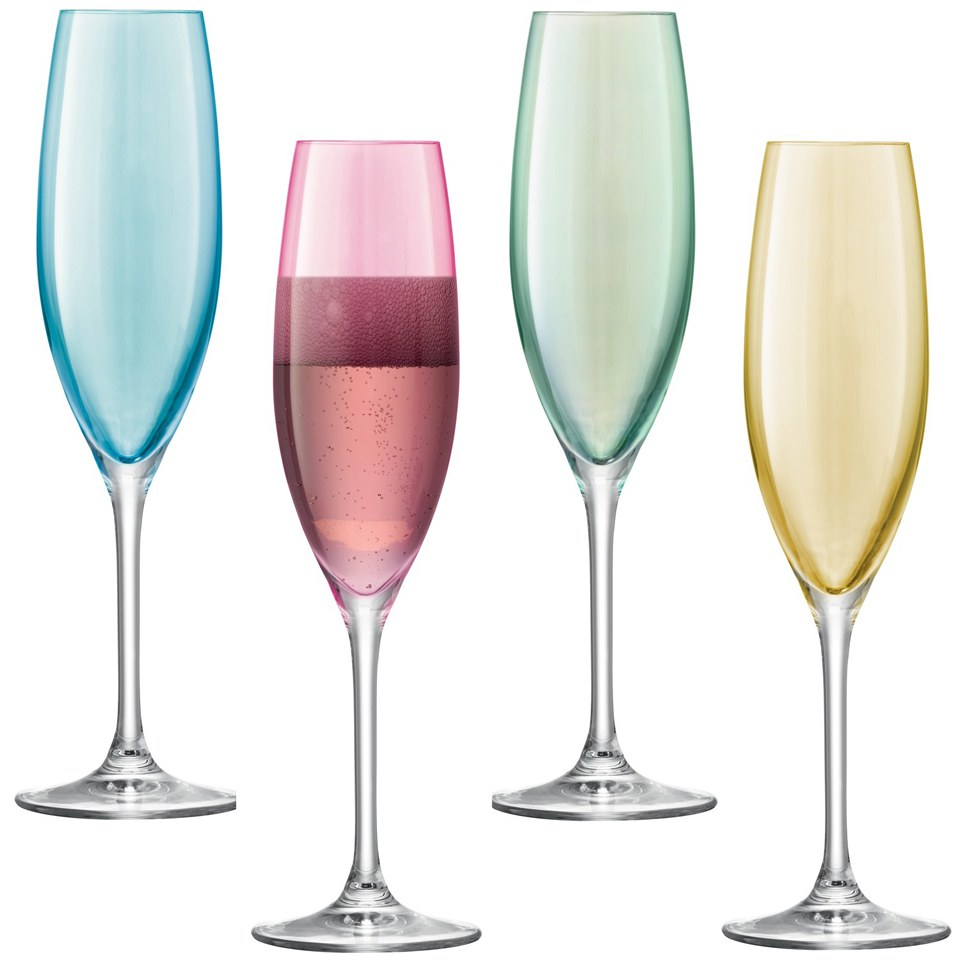 lsa-polka-pastel-champagne-flutes-225ml-set-of-4