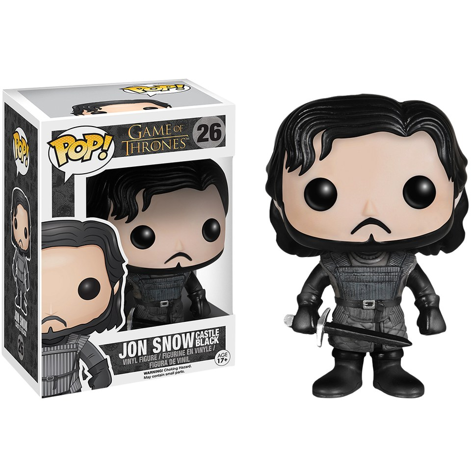 Game of Thrones Jon Snow Castle Black Pop! Vinyl Figur