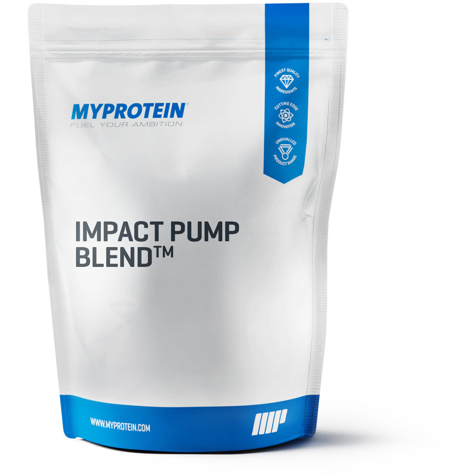 Foto Impact Pump Blend, Grape, 250g Myprotein