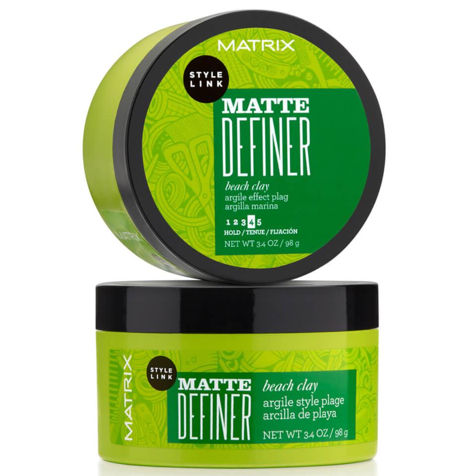 Matrix Style Link Matte Definer Beach Clay Haarwachs